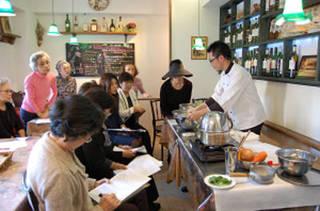 アンチエイジング料理教室