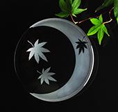 ガラス彫刻への第一歩!素敵な和柄の小皿を作りましょう♪当日お持ち帰り♪市ヶ谷駅近く♪体験随時♪