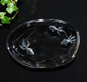 キラキラ綺麗な小皿制作体験☆2時間で素敵なオリジナル小皿を作って当日お持帰り♪ガラス彫刻1日体験♪