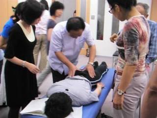 『中医手技療法を学ぶ!』推拿学科大学専科コース