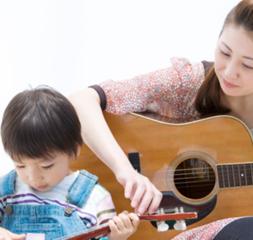【アコースティックギター】お子様の才能を伸ばす!成長に合わせたレッスンを実施しています【無料体験有】