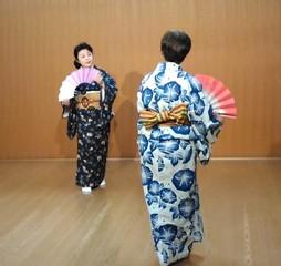初めての日本舞踊と浴衣着付け 体験レッスン